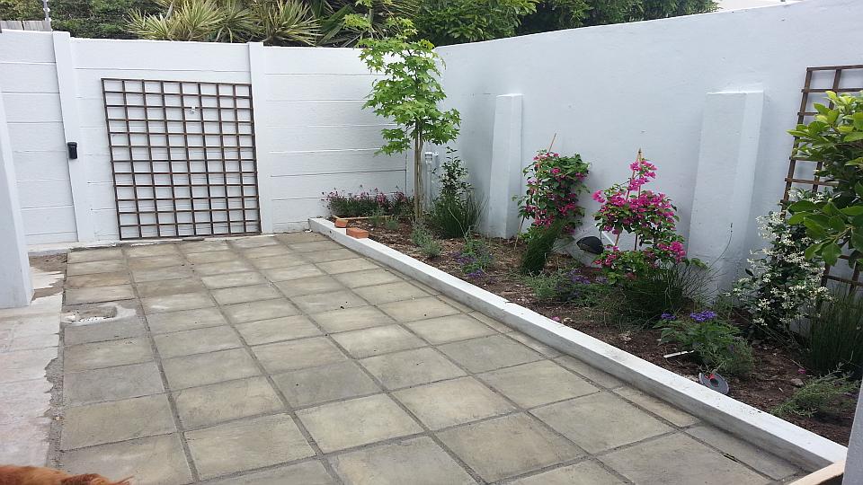 Back yard done by MMC Handyman Cape Town