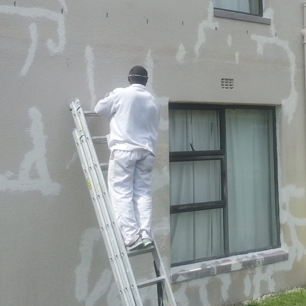 Preparation before painting