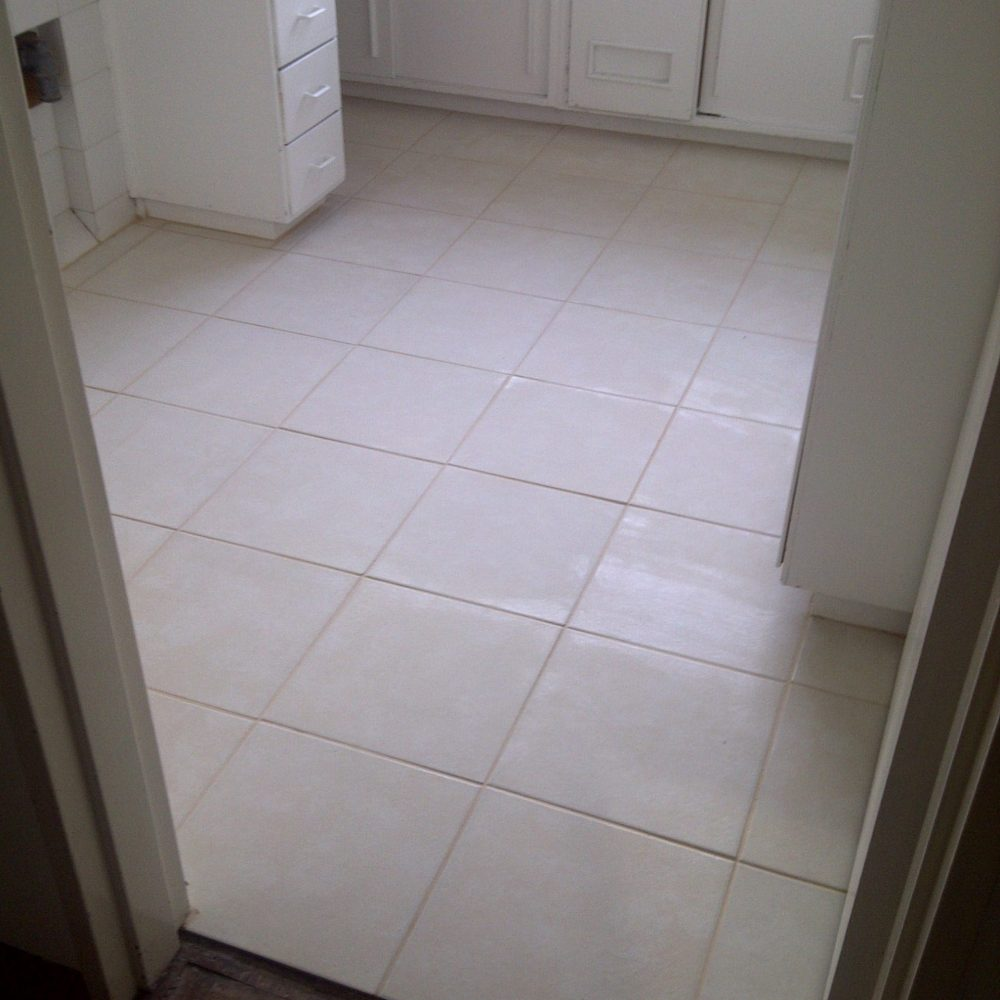 Bathroom walls and floor tiling done